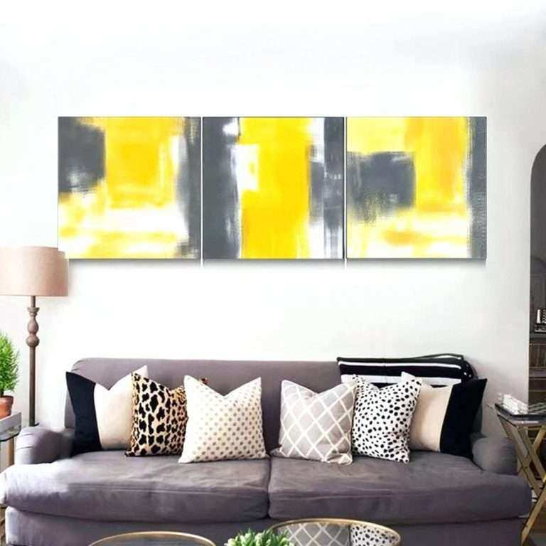Dorable Modern Living Room Wall Art Illustration - Art & Wall Decor ...