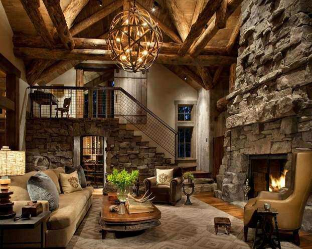 Wonderful Modern Rustic Wall Decor Unique 40 Awesome Rustic Living Room Decorating  Ideas Decoholic