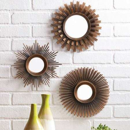 Multi Mirror Wall Decor Lovely Better Homes and Gardens 3 Piece ...
