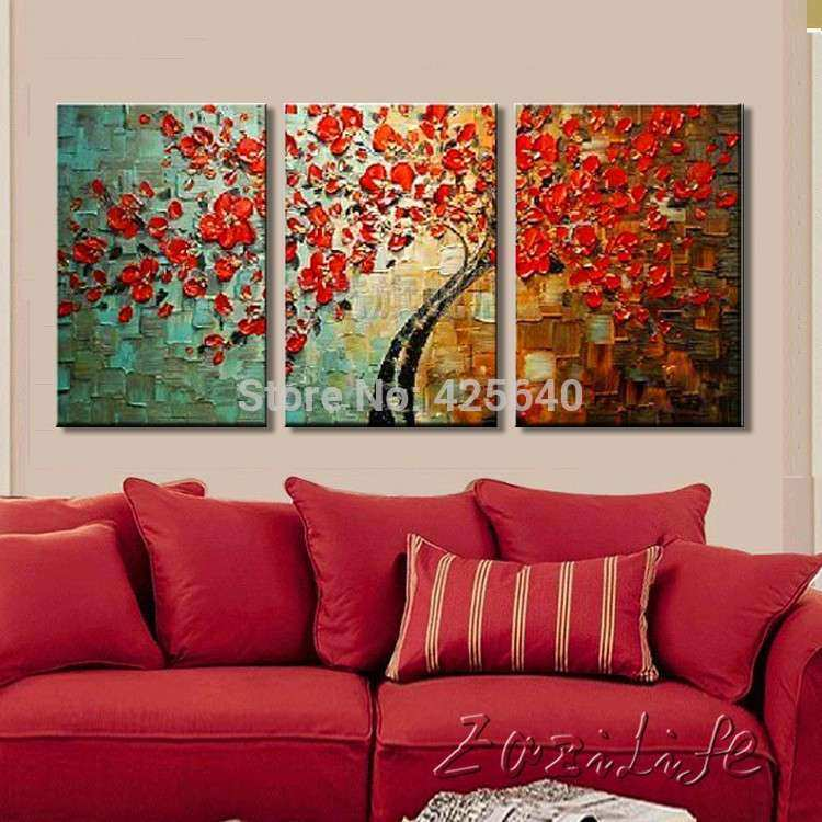 Aliexpress Buy Oil painting Canvas Wall Paintings
