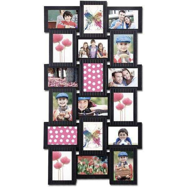 Multiple Picture Frames On Wall Fresh 18 Opening 4x6 Black Plastic ...