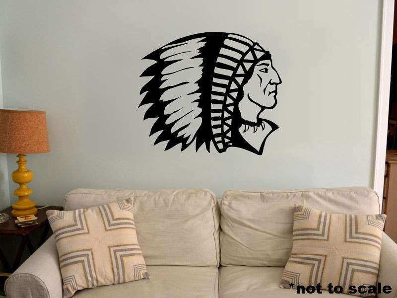 Native American Wall Decor Inspirational Indian Chief Interior Wall ...