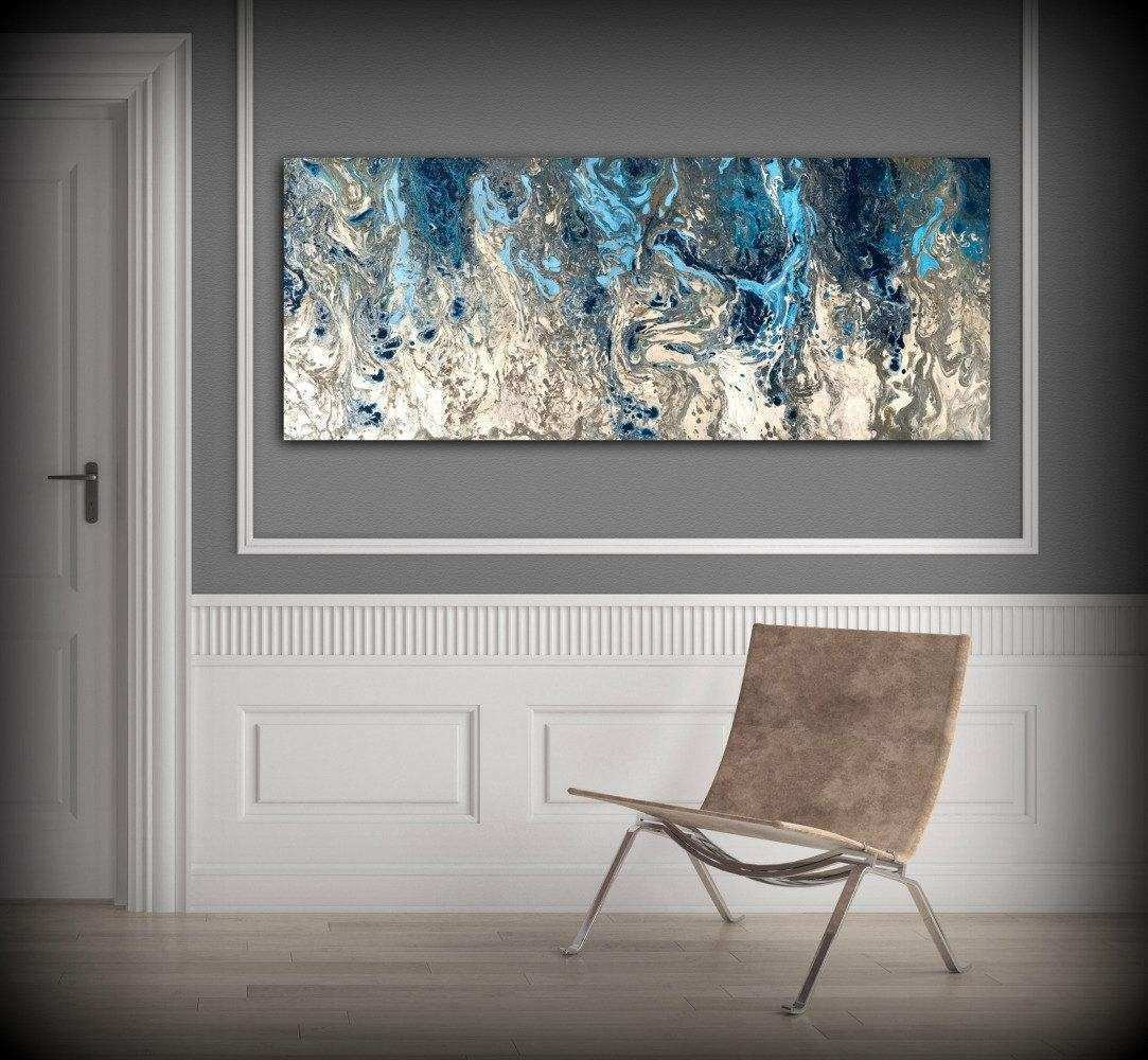 20 Collection of Navy Blue Wall Art