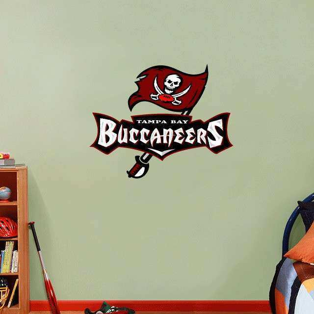 Tampa Bay Buccaneers NFL Football Wall Decor Sticker Decal