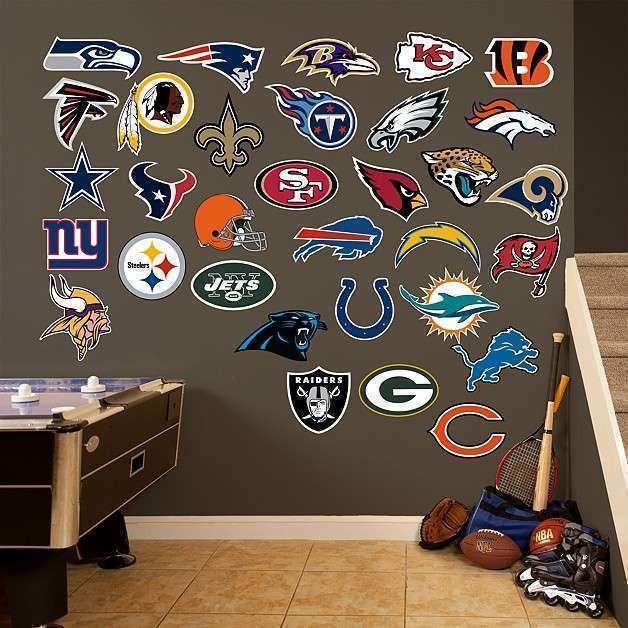 Shop Football Wall Decals & Gifts