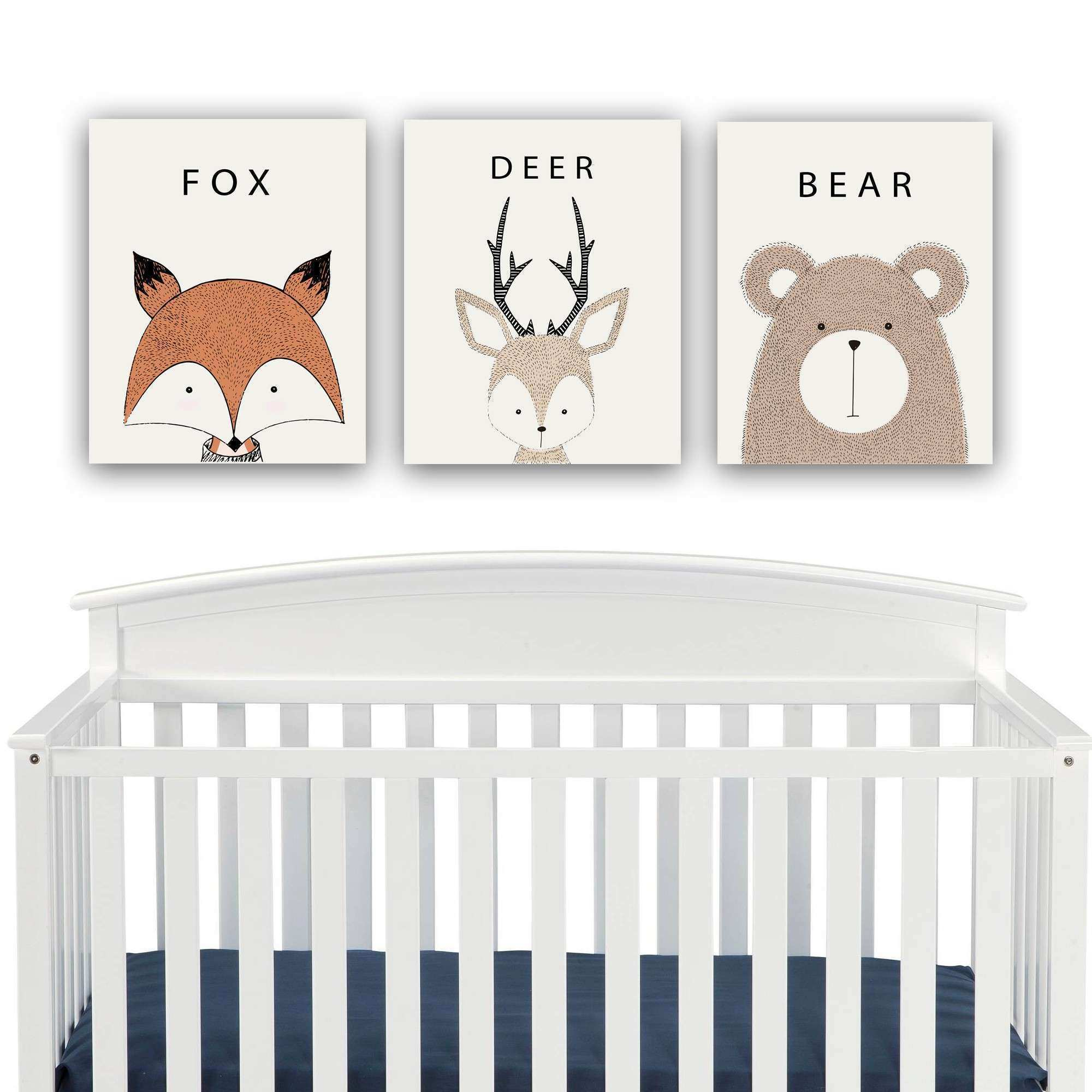 Woodland Decor Nursery palmyralibrary