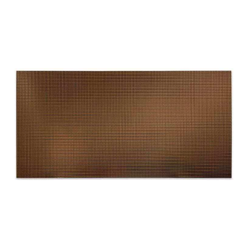 Fasade Wall Panel Square in Oil Rubbed Bronze