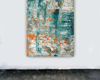 Canvas art abstract painting large wall art by