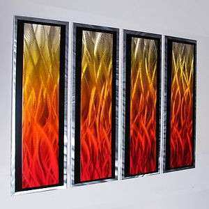 Modern Abstract Metal Wall Art Painting Sculpture Home