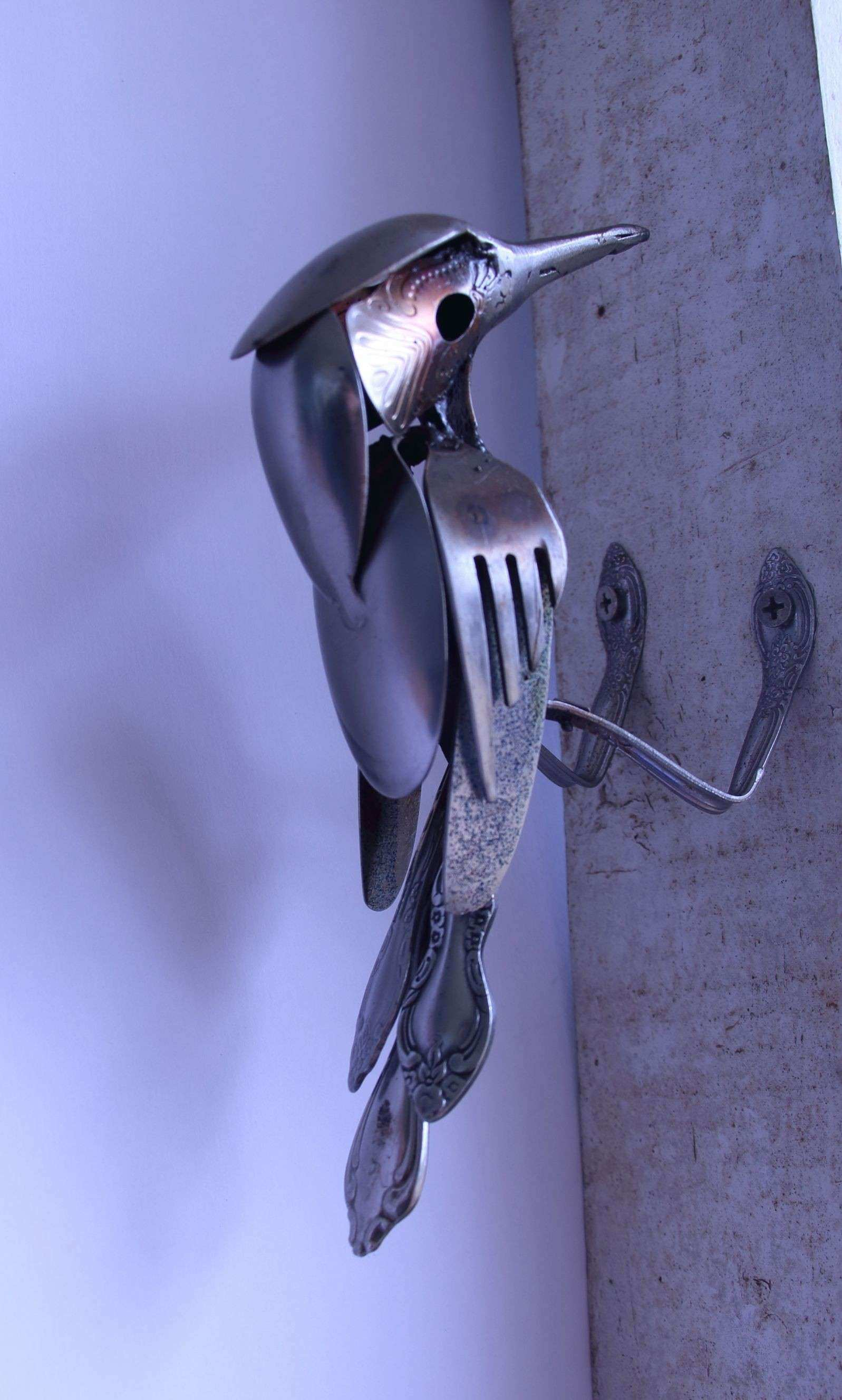 Stainless Steel Bird Created by J R Hamm This art