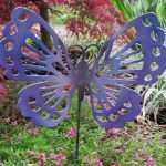 Unique Outdoor Metal butterfly Wall Decor