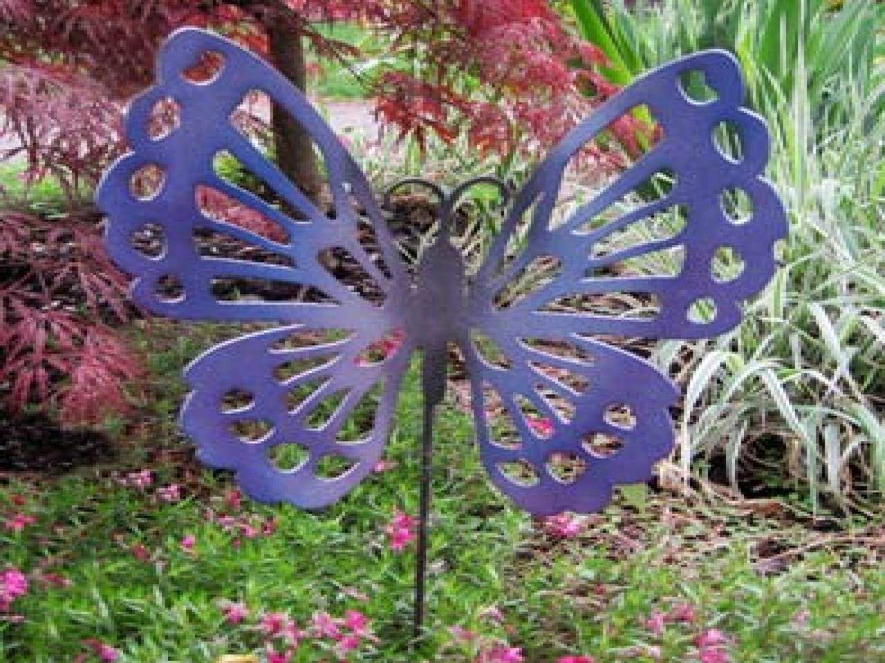 Outdoor Metal Butterfly Wall Decor Awesome Decorative Metal Garden
