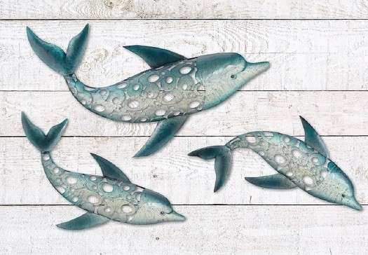 Amazing Outdoor Metal Fish Wall Art Awesome Dolphin Outdoor Wall Decor