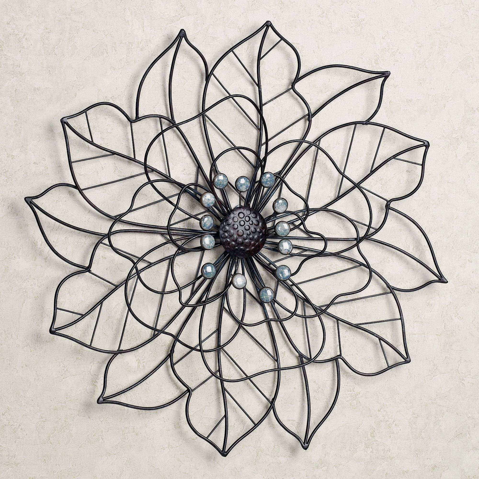 Outdoor Metal Flower Wall Art Best Of Beauty In Bloom Flower Blossom Metal  Wall Art