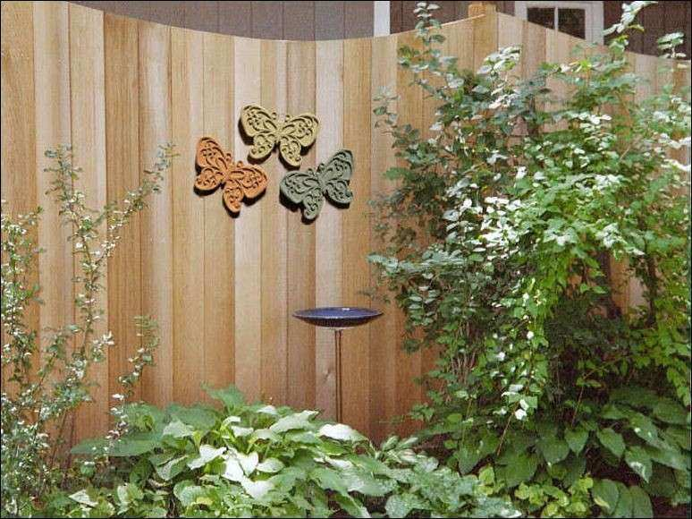 Image Gallery outdoor wall art ideas
