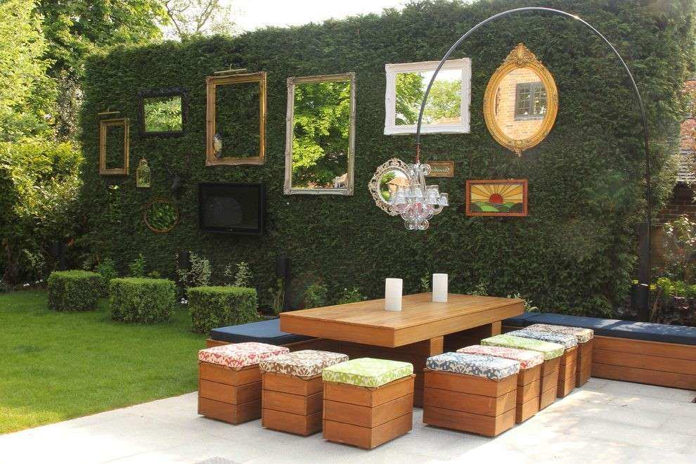 Outdoor Wall Decor Ideas New Garden Decoration Patio Shabby Chic Style With
