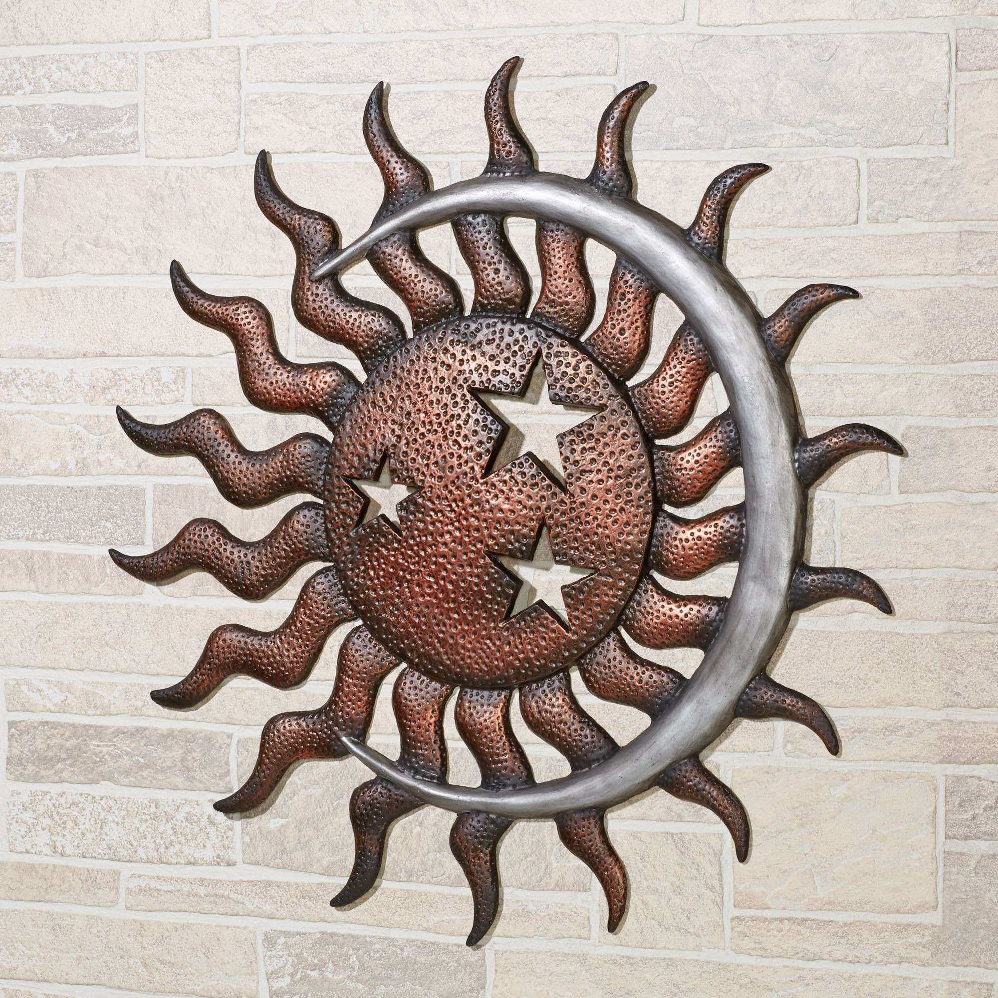 Moon Dance Indoor Outdoor Metal Wall Art