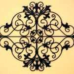 Lovely Outdoor Wall Decor Wrought Iron