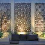 Lovely Outdoor Wall Decorations Garden