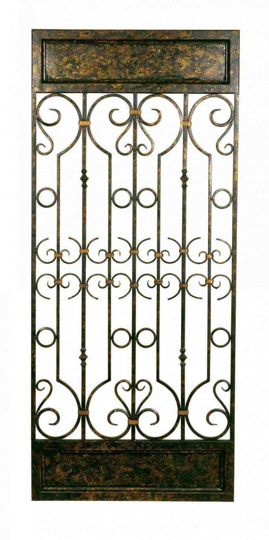 32 Best Ideas of Metal Gate Wall Art