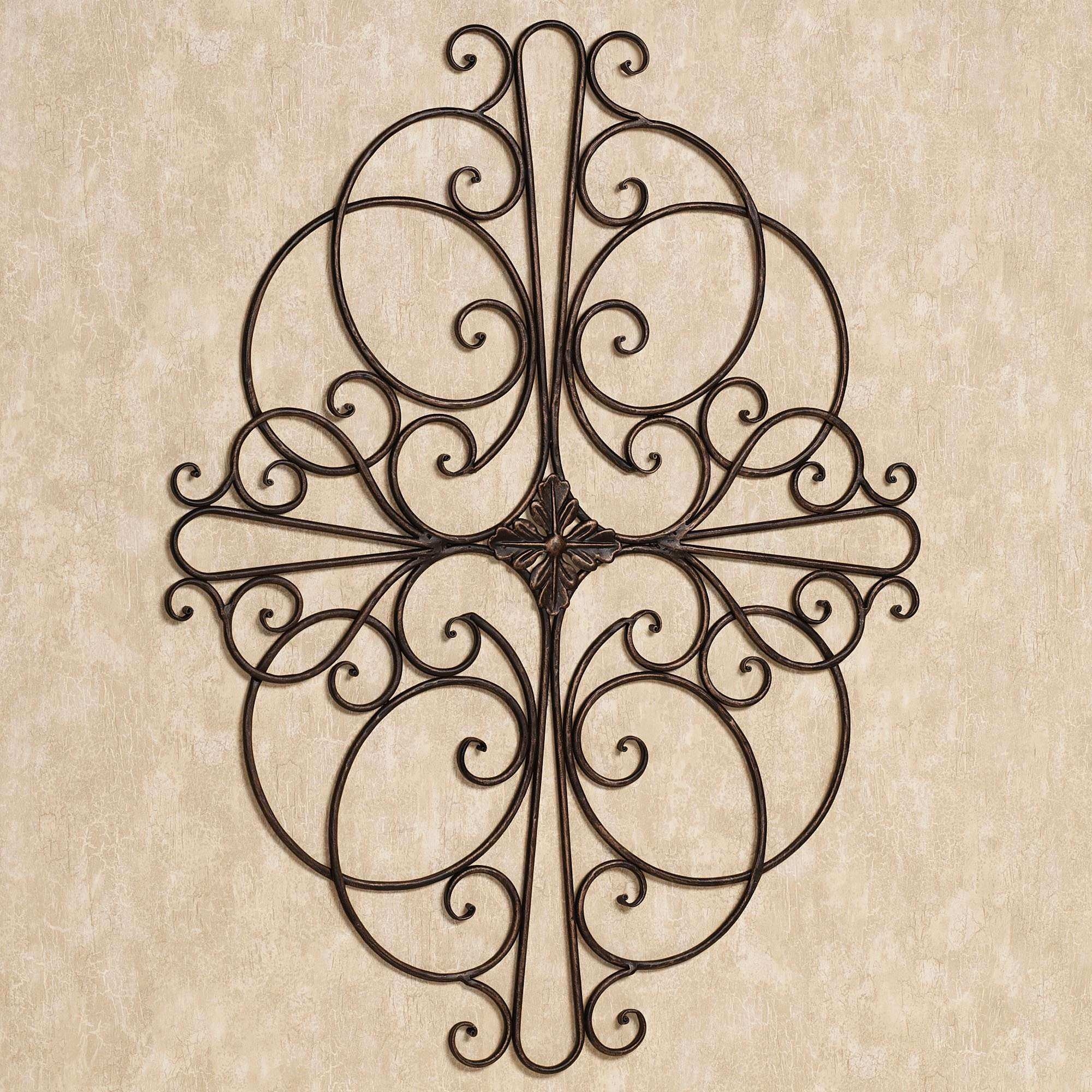 antique wrought iron wall decor Make It Artistic in