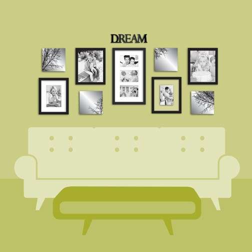 Over the Couch Wall Decor Lovely Wall solutions Decorating Tips ...