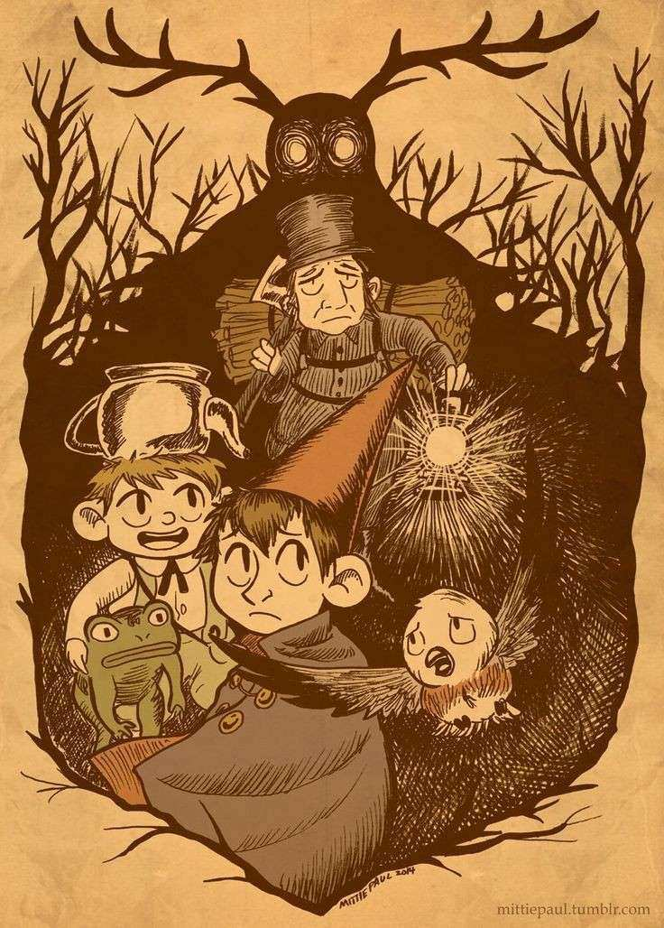 17 Best images about Over the Garden Wall Fan Art on