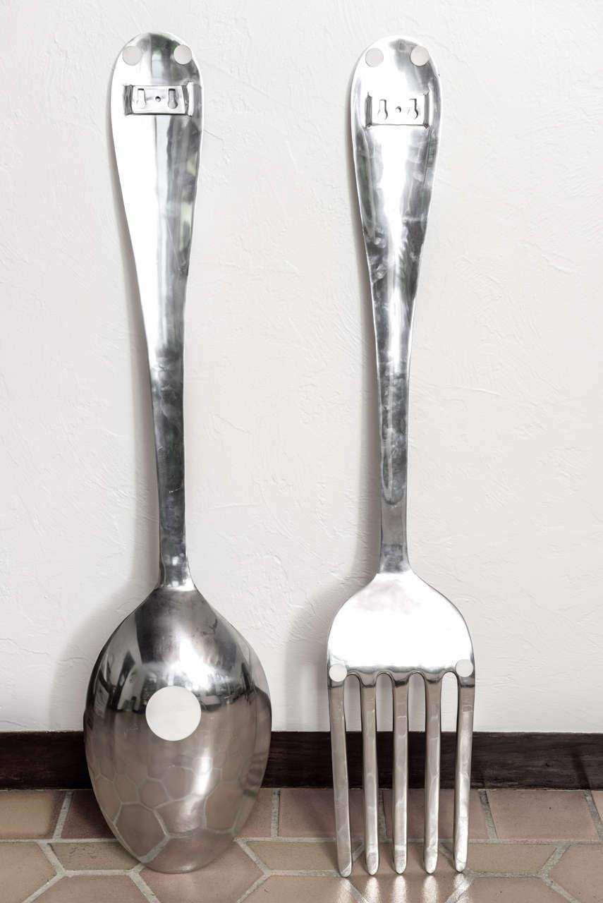 Oversized Fork And Spoon Wall Decor Elegant 20 Best