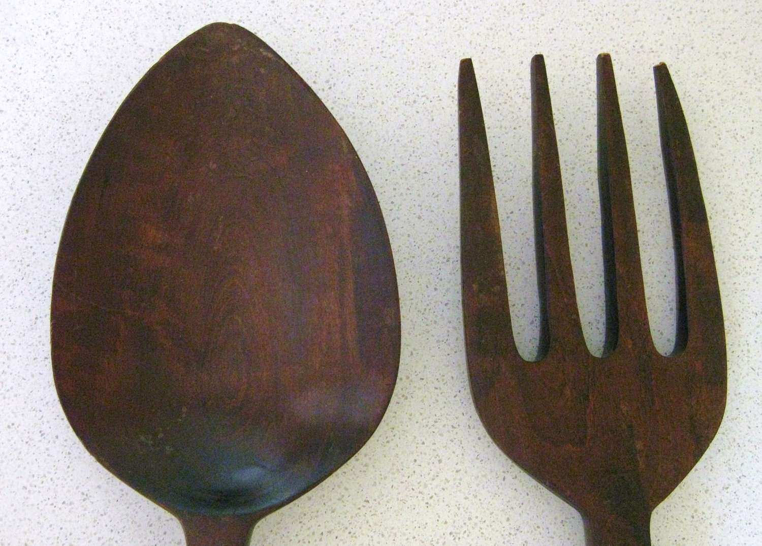 Oversized fork and Spoon Wall Decor Fresh Wooden fork and Spoon Wall Decor 28 Inches Long