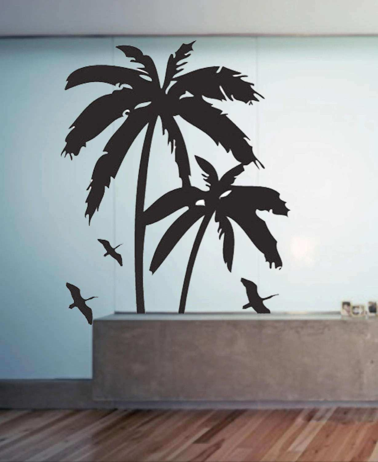 Palm Trees uBer Decals Wall Decal Vinyl Decor Art by