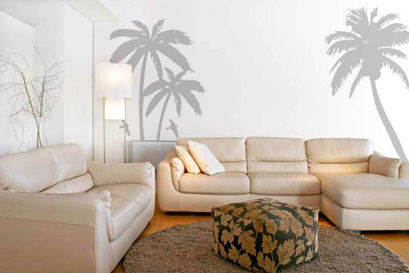 Great Palm Tree Wall Decor Best Of Palm Trees Wall Decals Stickers Sea Birds  Beach Scenery Wall