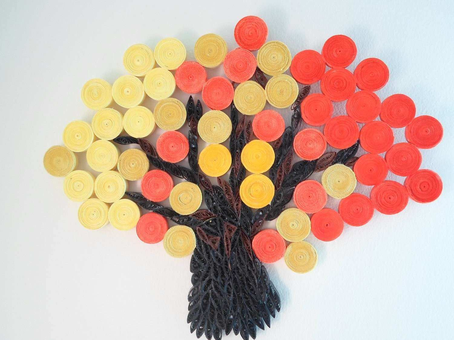 Stunning Paper Wall Decorations Contemporary - The Wall Art ...