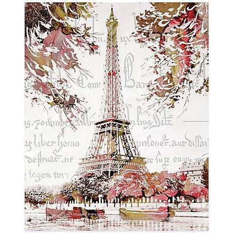 Paris Springtime Canvas Wall Art Bed Bath & Beyond