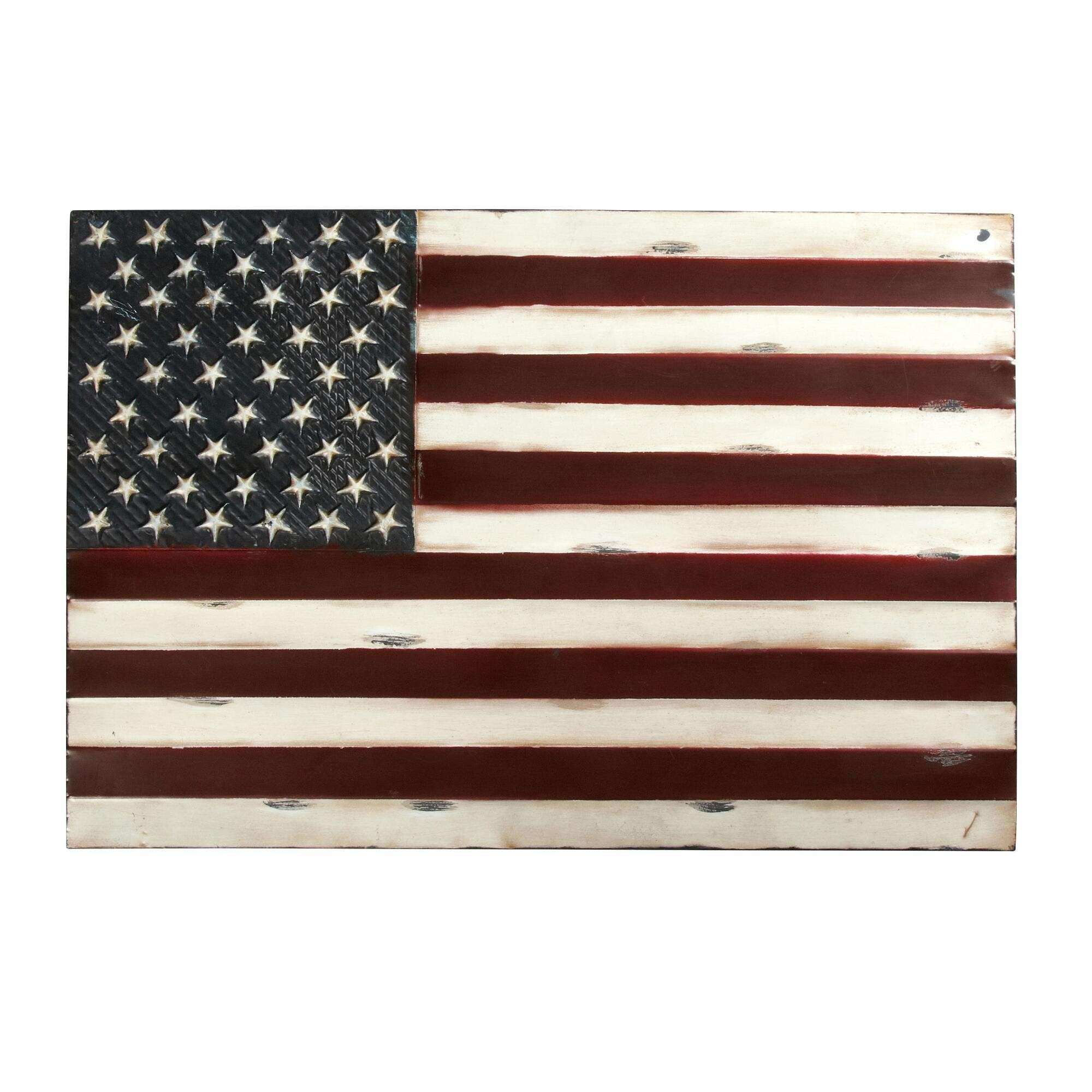 Fresh Idea American Flag Wall Decor With New Picture Home