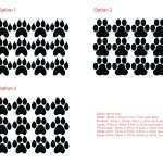 Best Of Paw Print Wall Decals