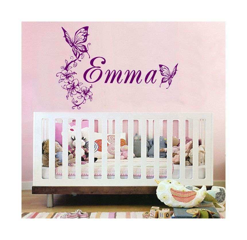 Personalised Picture Wall Stickers Inspirational Huge Personalized Childs Name Vinyl Wall Decal Decor