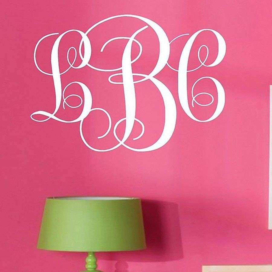 Wall Stickers Personalized Name Monogram Best Free