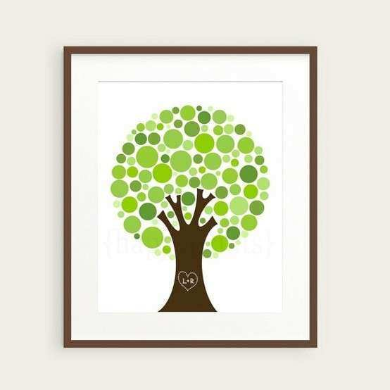 Personalized Family Tree Wall Art Inspirational Personalized Family Tree Wall Art Print Gift by