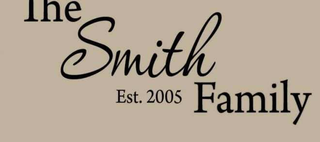 Personalized Wall Art with Names Lovely Wall Art Design Custom Vinyl Wall Art Family Name Wall