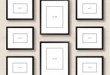 Picture Frame Arrangements On Wall Ideas Elegant 6 Ways to Set Up A Gallery Wall
