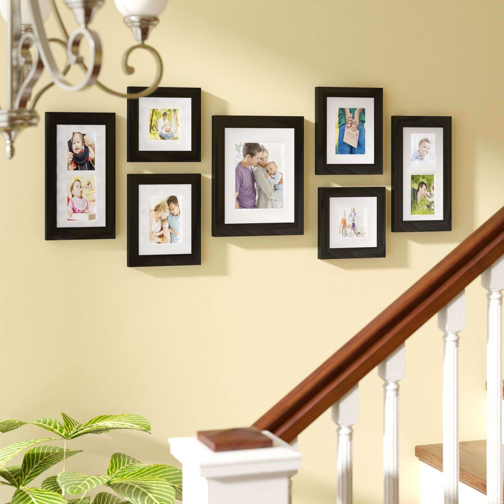 Inspirational Picture Frame Set Wall Gallery   Wall Art Ideas