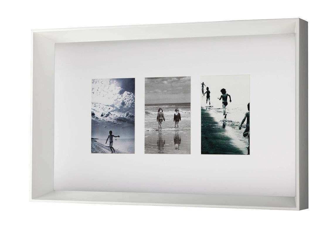 Picture Frame Wall Art Unique Three Openings Wood Art Frames Decor ...