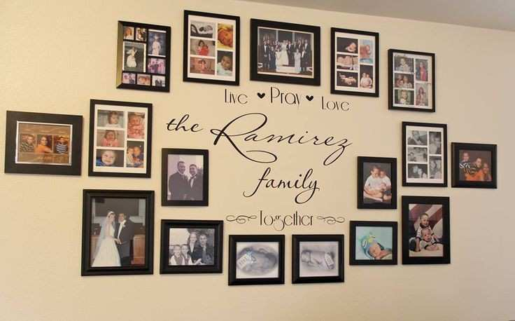 Picture Frame Wall Ideas for Decorating Awesome Idea for My u0026quot;family Wallu0026quot; Decorating & Picture Frame Wall Ideas for Decorating Awesome Idea for My