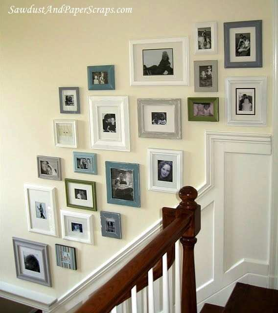 Picture Frame Wall Ideas For Decorating Inspirational Little Cove Design  Frame Your Blank Wall Collage Of