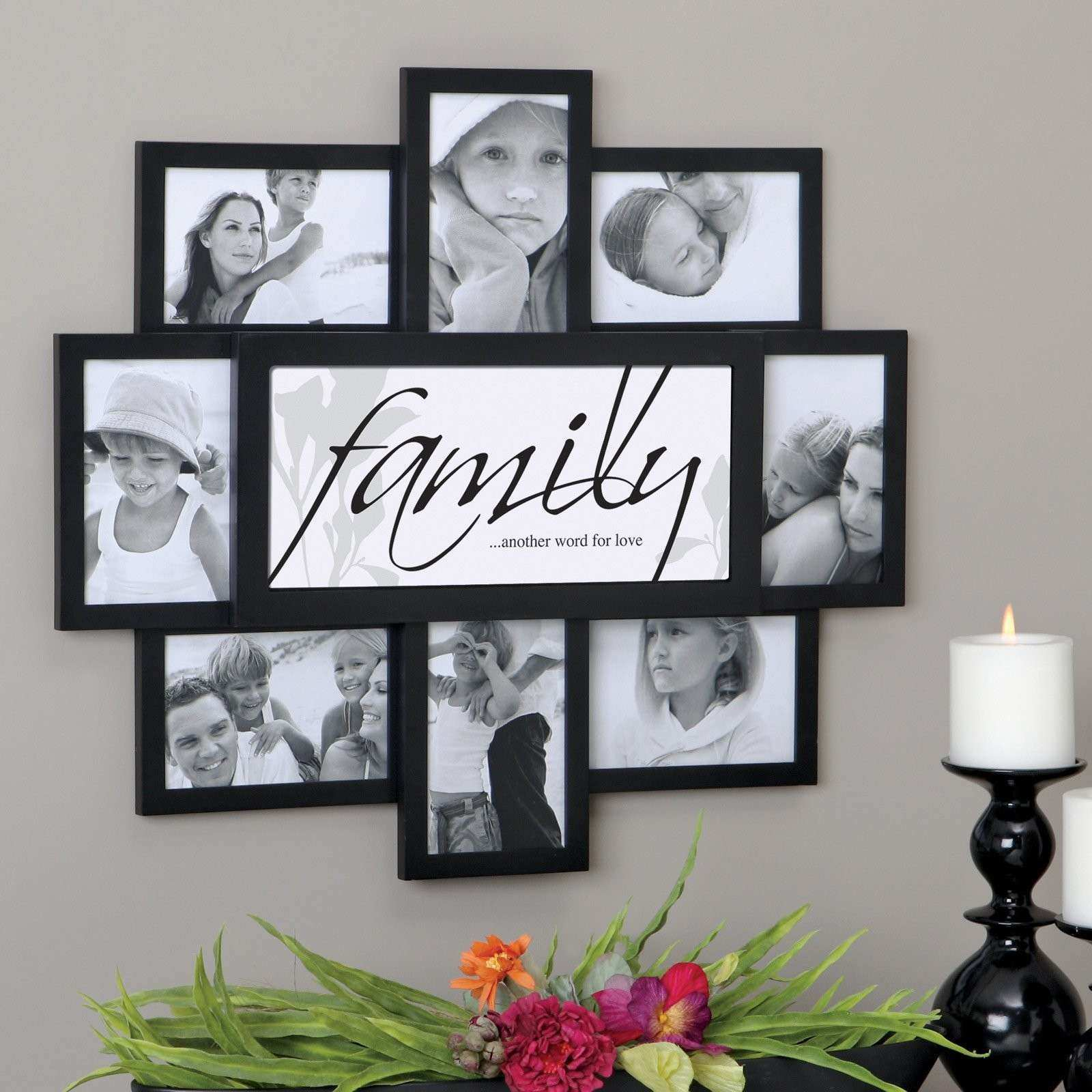 Picture Frame Wall Ideas Fresh Felicite 8 Family Frame Collage Wall ...