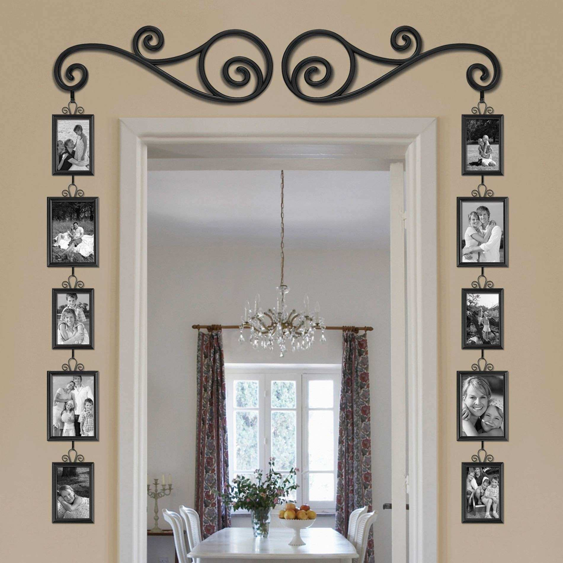 Tremendous Wall Hanging Collage Picture Frame Decor Ideas Scroll Set
