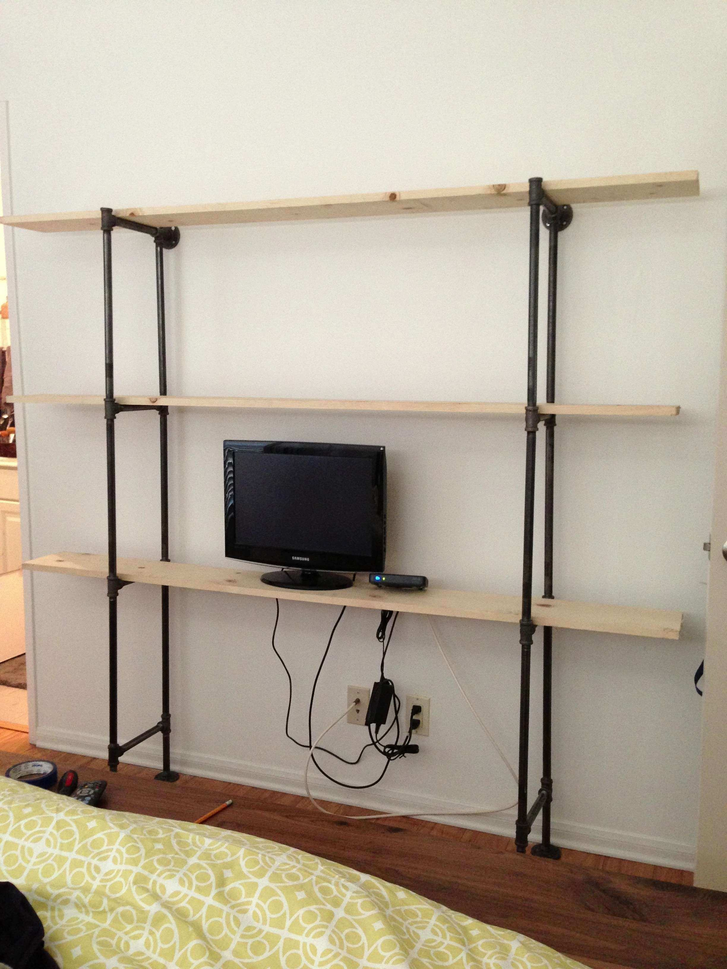 Pipe Frame Wall Shelf