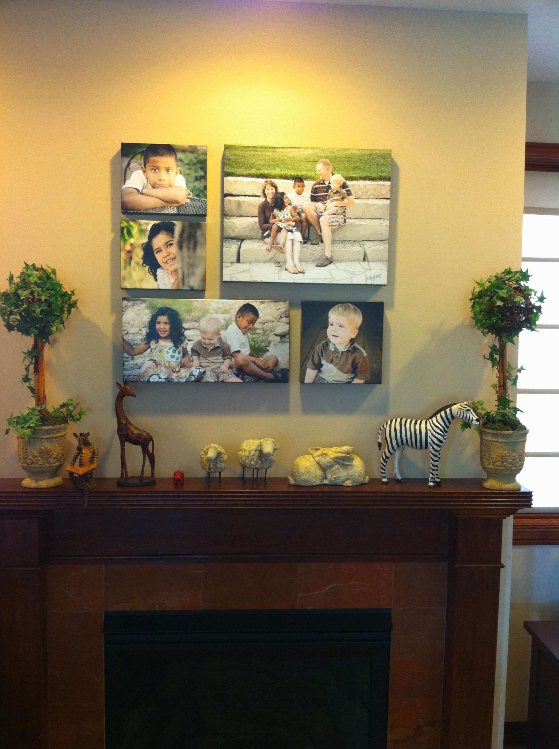 Behind the Image Canvas Wall Groupings Cathy Mores