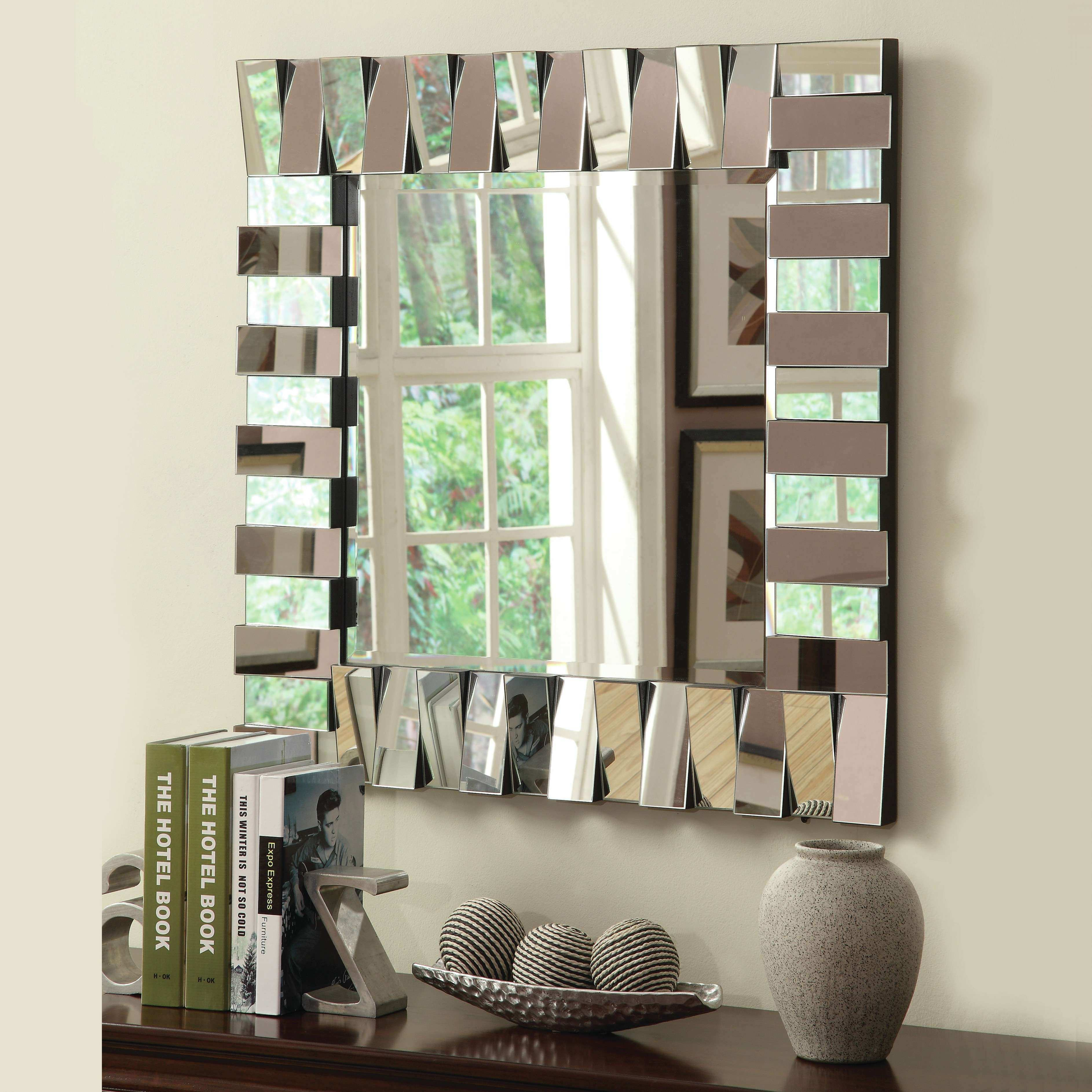 Oversized Mirror Decorative Mirror Groupings Mirror Placement In