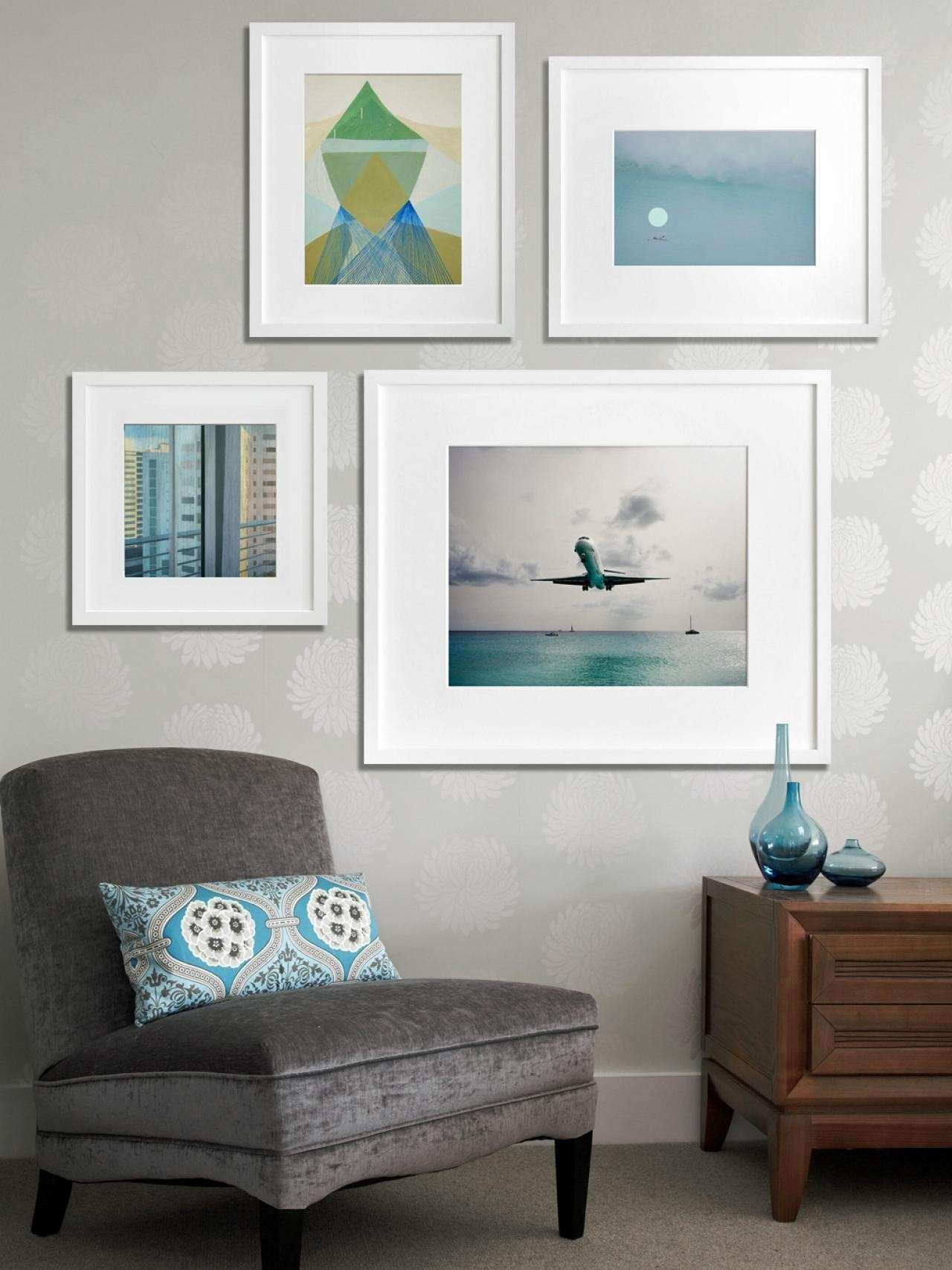 Home Interior Wall Groupings Example